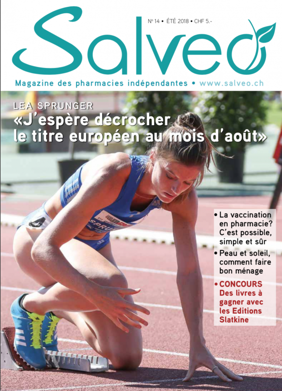 Salveo magazine N°14 été 2018 (solution au mot secret: RIGHI)